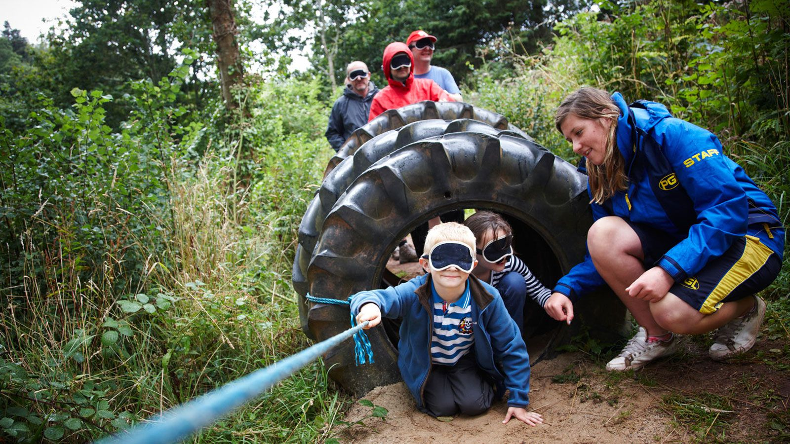 PGL Tregoyd House Adventure Holidays and Summer Camps nr Powys Wales