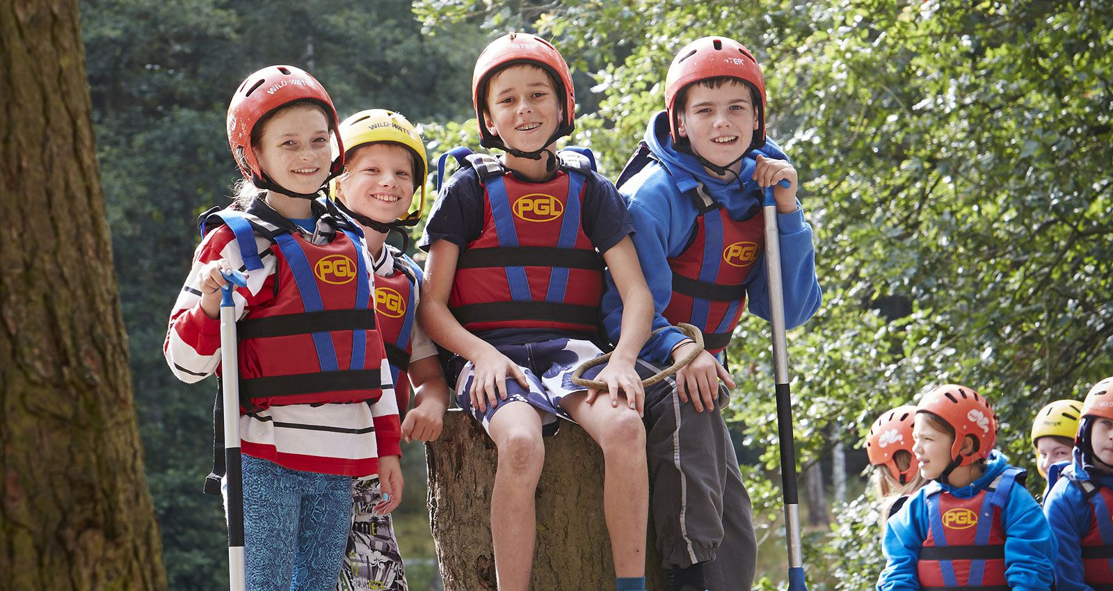 PGL Adventure Holidays - Introductory Adventures - 2-3 night UK breaks for 7-17 year olds - Summer Camps UK