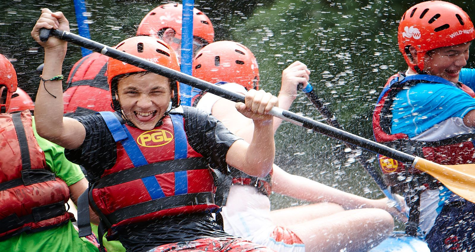 PGL Adventure Holidays - Specialist Holidays for 7-17 year olds across the UK - Action and Adventure - Adrenaline Adventure