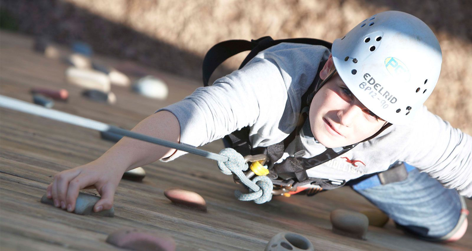 PGL Adventure Holidays - Specialist Holidays for 7-17 year olds across the UK and France - Love to Learn – Climbing Adventure