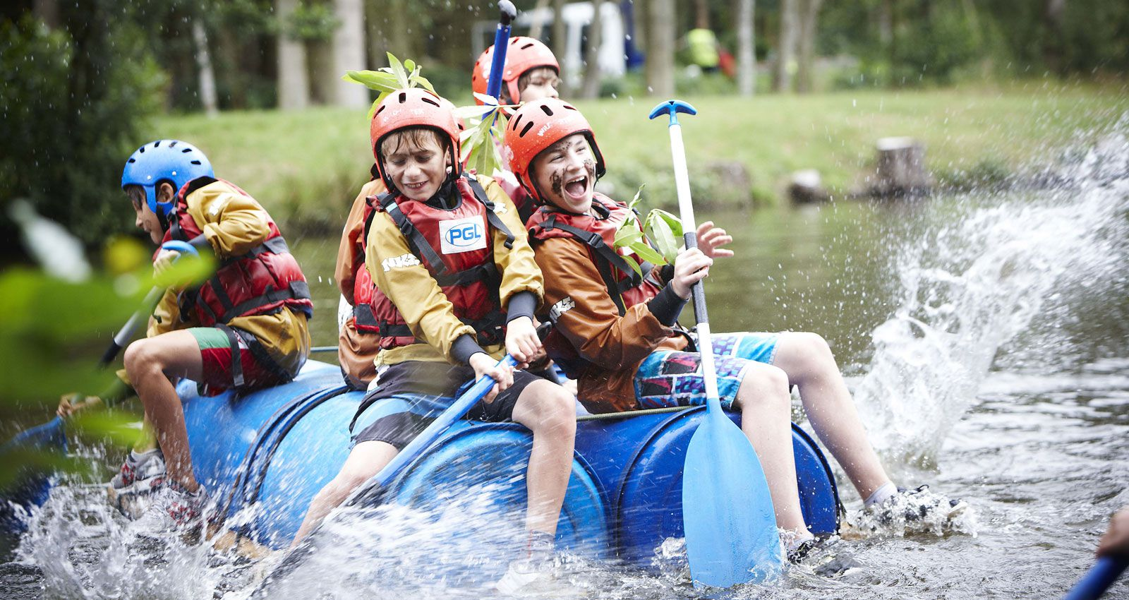 Multi Activity 7 night Adventure Holidays for 7-17 year olds in the UK