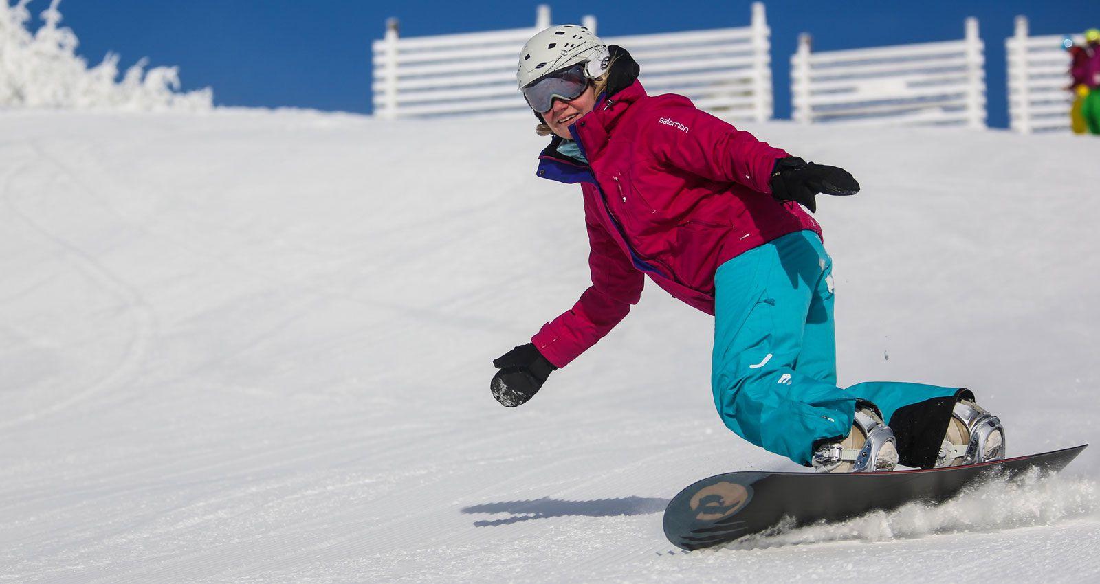 Snow skiing terms