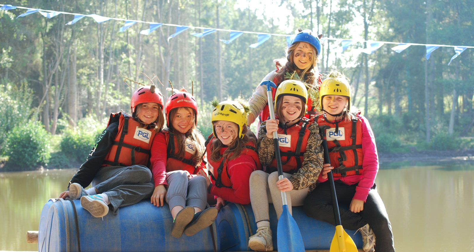 PGL Adventure Holidays - Multi-Activity Holidays and Summer Camps across the UK - Introductory Adventures - First Timers