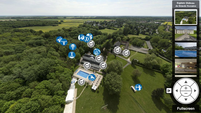 Château de Grande Romaine Virtual Tour