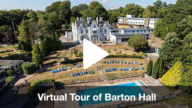 Barton Hall Virtual Tour for Secondary Schools