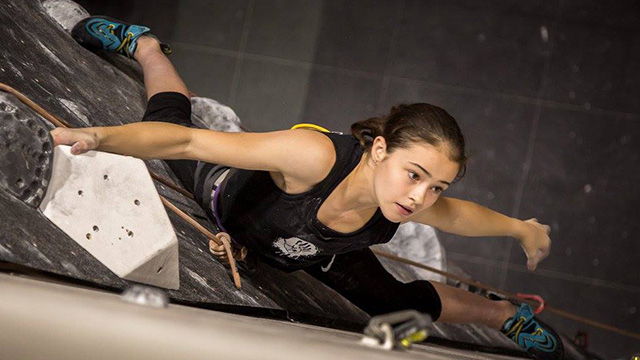 PGL Sponsored Athlete and climber, Emily Phillips
