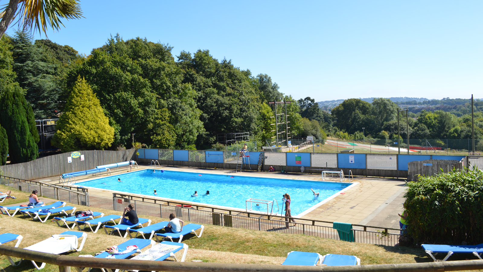Family activity adventure holidays in devon at pgl barton hall for Barton swimming pool timetable