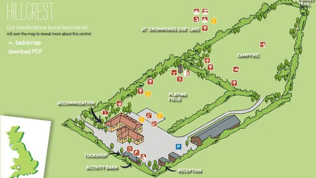 Hillcrest Interactive Centre Map