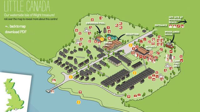 Little Canada Interactive Centre Map