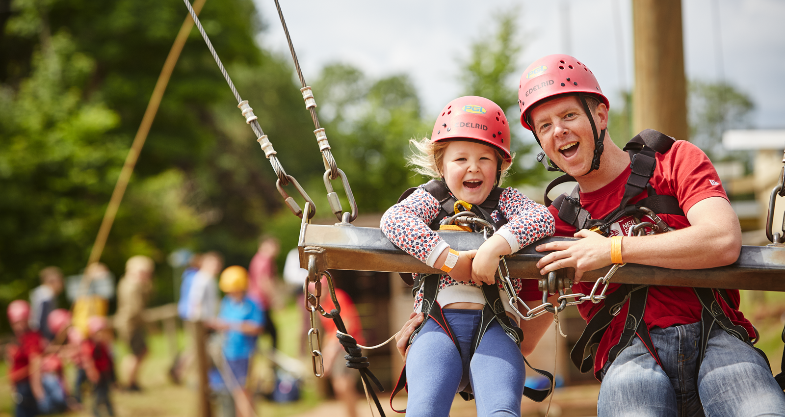 PGL Family Adventures Family Activity Holidays in the UK