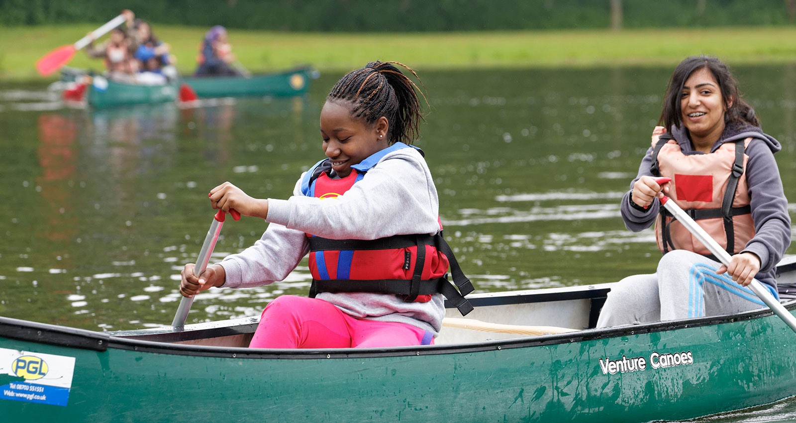 Youth Group Canoe Session
