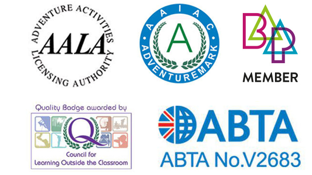 Council for Learning Outside the Classroom LOtC, ABTA, AALA, BAPA, Adventuremark