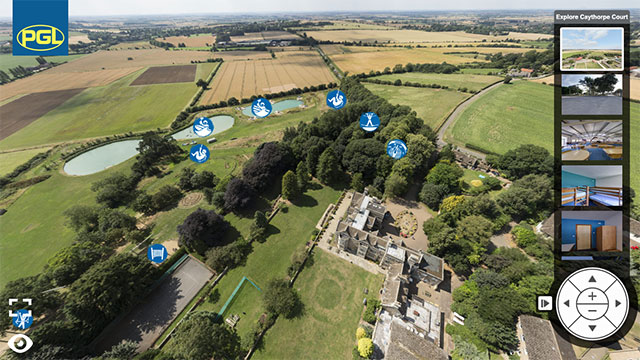 Virtual Tour of PGL Caythorpe Court for Brigades and Cadets
