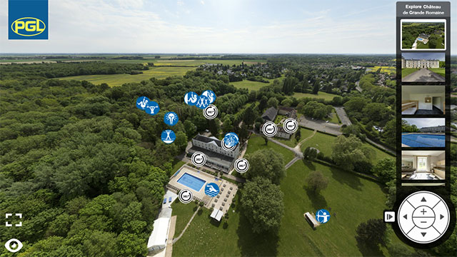 Virtual Tour of PGL  Château de Grande Romaine for Cubs and Scouts