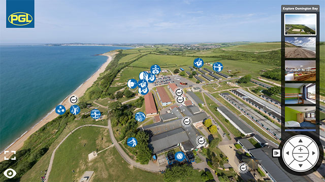 Virtual Tour of PGL Osmington Bay for Brownies and Guides