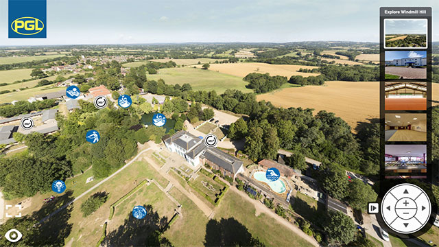 Virtual Tour of PGL Windmill Hill for Youth Groups