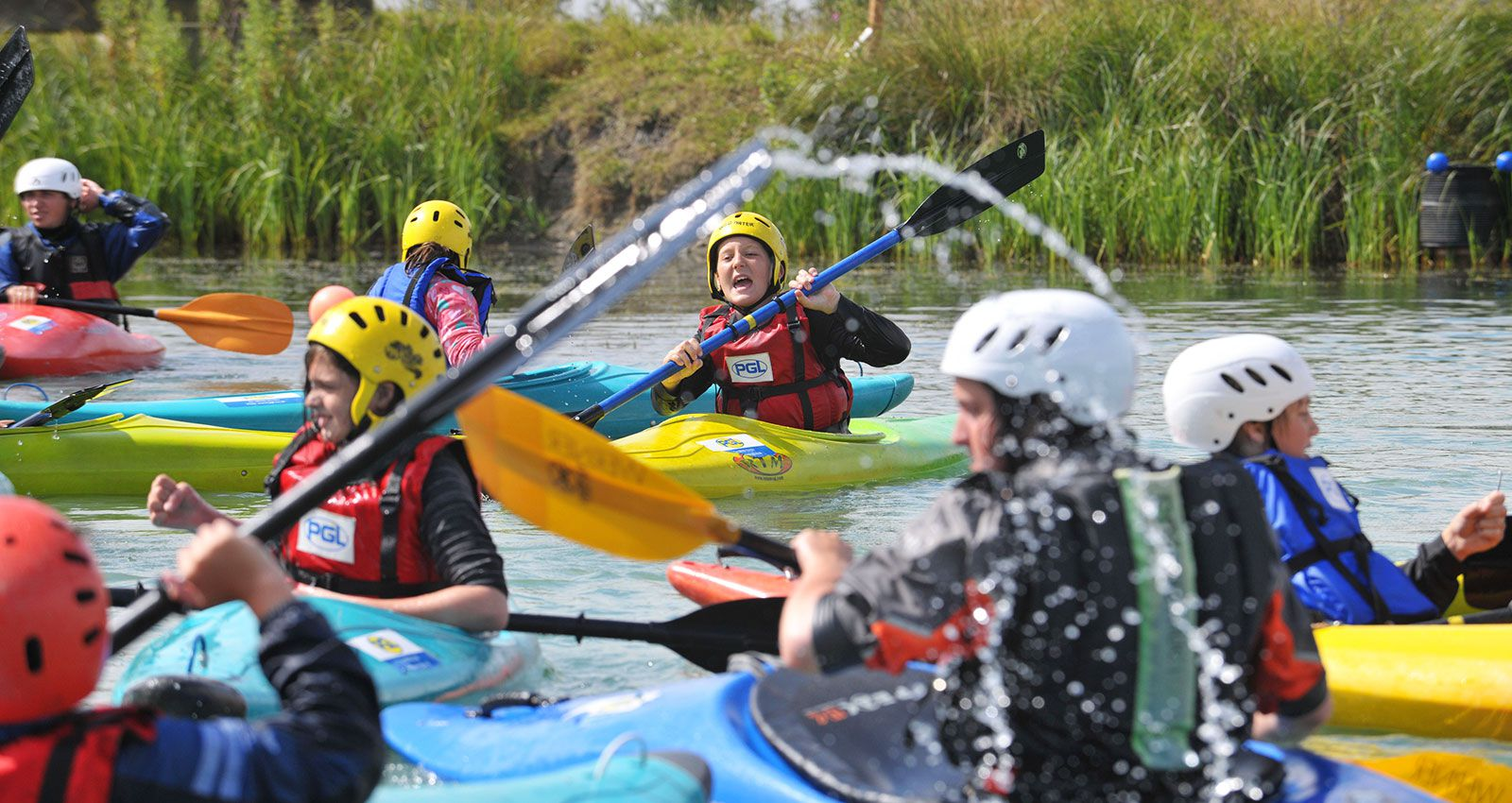outdoor adventure for sports clubs