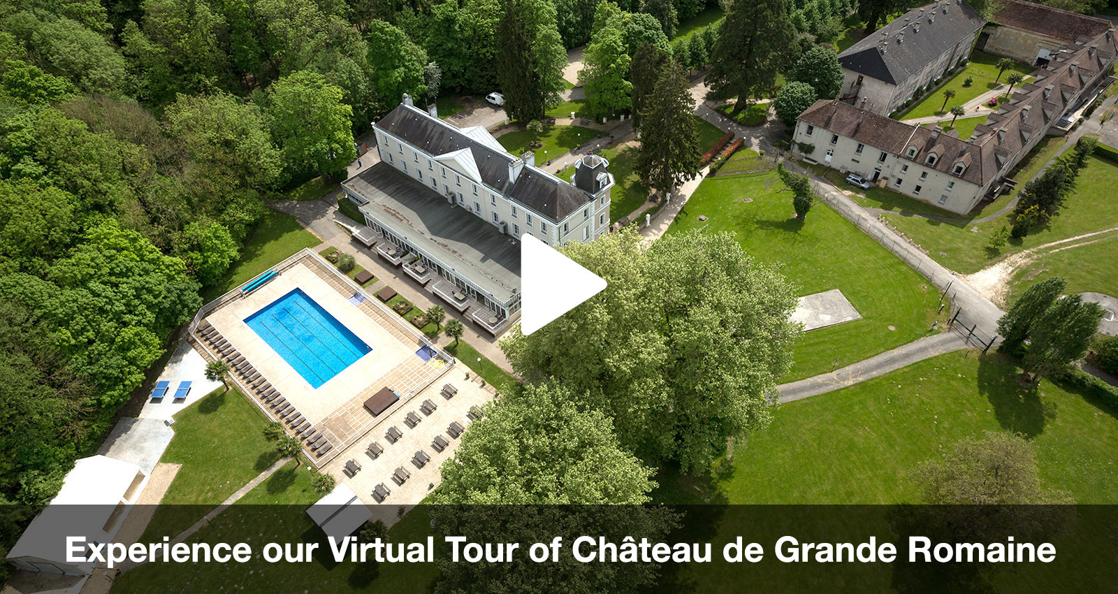 Chateau de Grande Romaine for International Students
