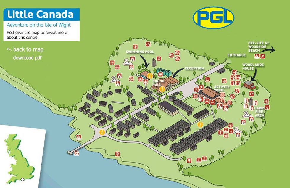 Little Canada Interactive Centre Map for Job Seekers