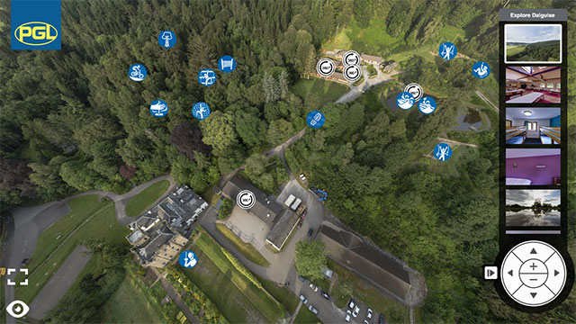 Dalguise Virtual Tour for Secondary Schools