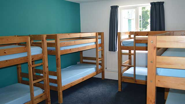 accommodation for school groups at pgl