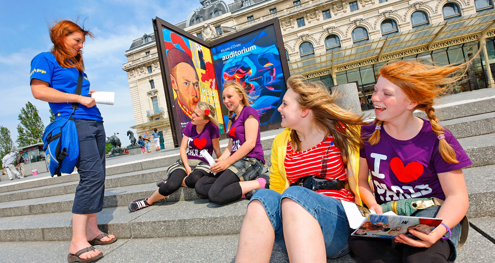 French Language Trip for Schools : Excursions in Paris