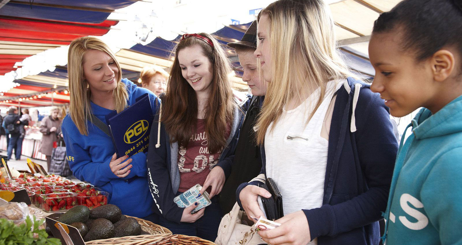 A Level French Trip : Practise oral French at a local market