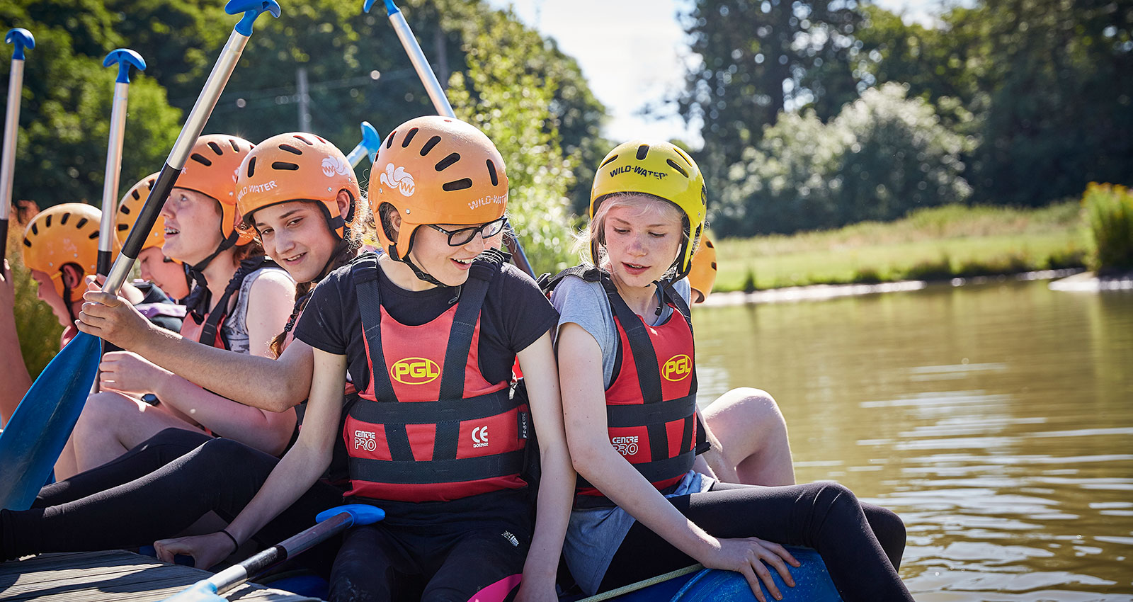 Activities school trip for KS3