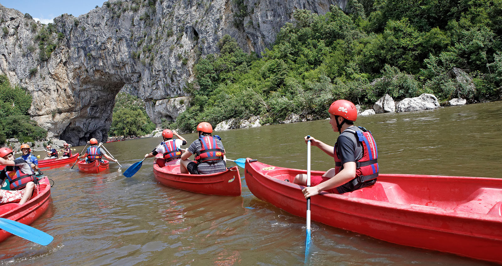 School trips abroad - watersports and adventure