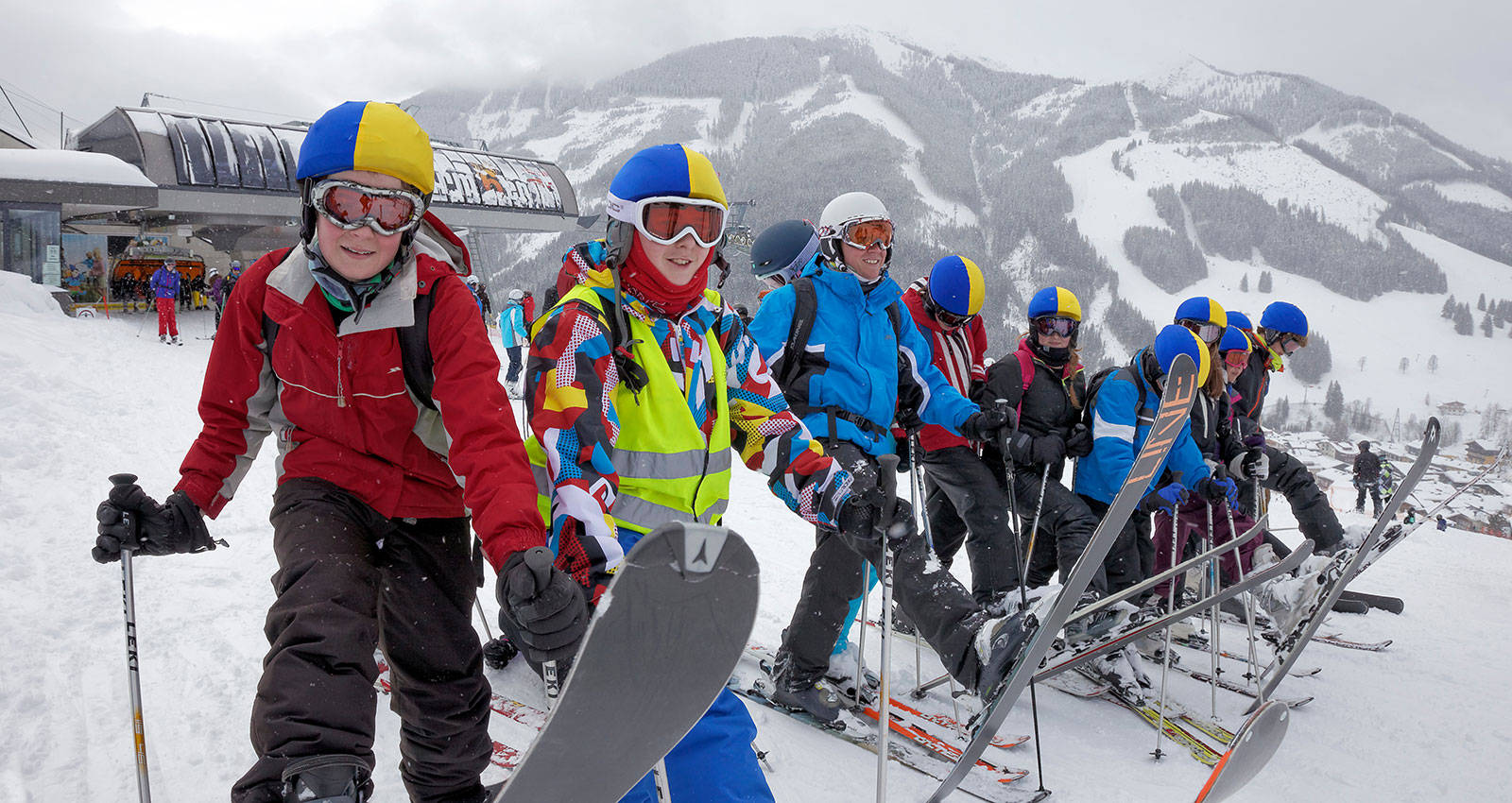Secondary School trip skiing