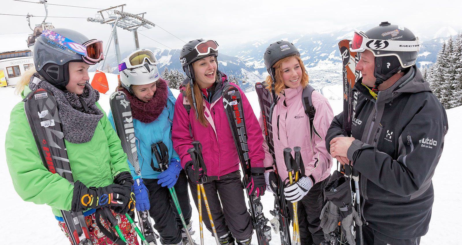School ski for small groups