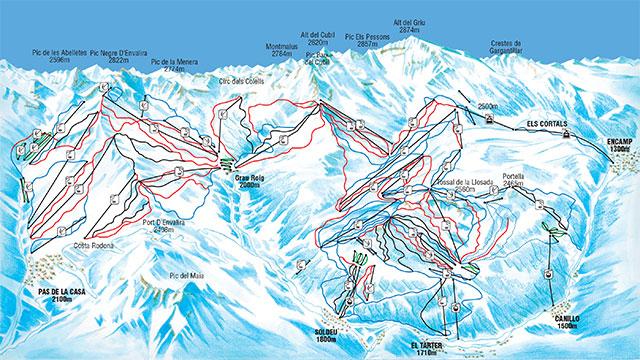 andorra ski resorts map with Grandvalira on Zermatt besides Solden in addition Schladming furthermore Ski Map in addition El Tarter.
