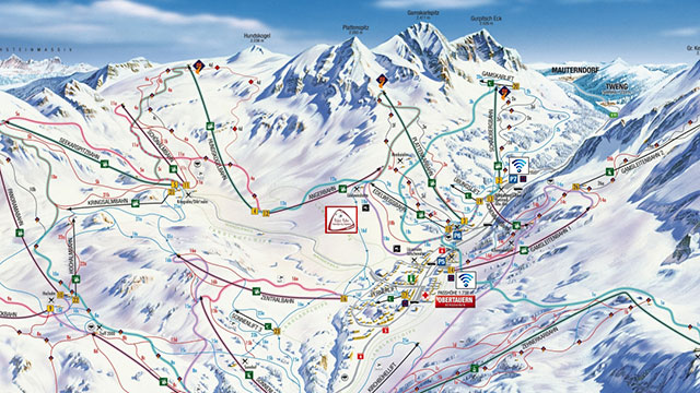 Obertauern ski trips for schools and groups