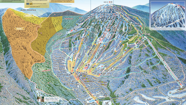Wildcat Piste Map