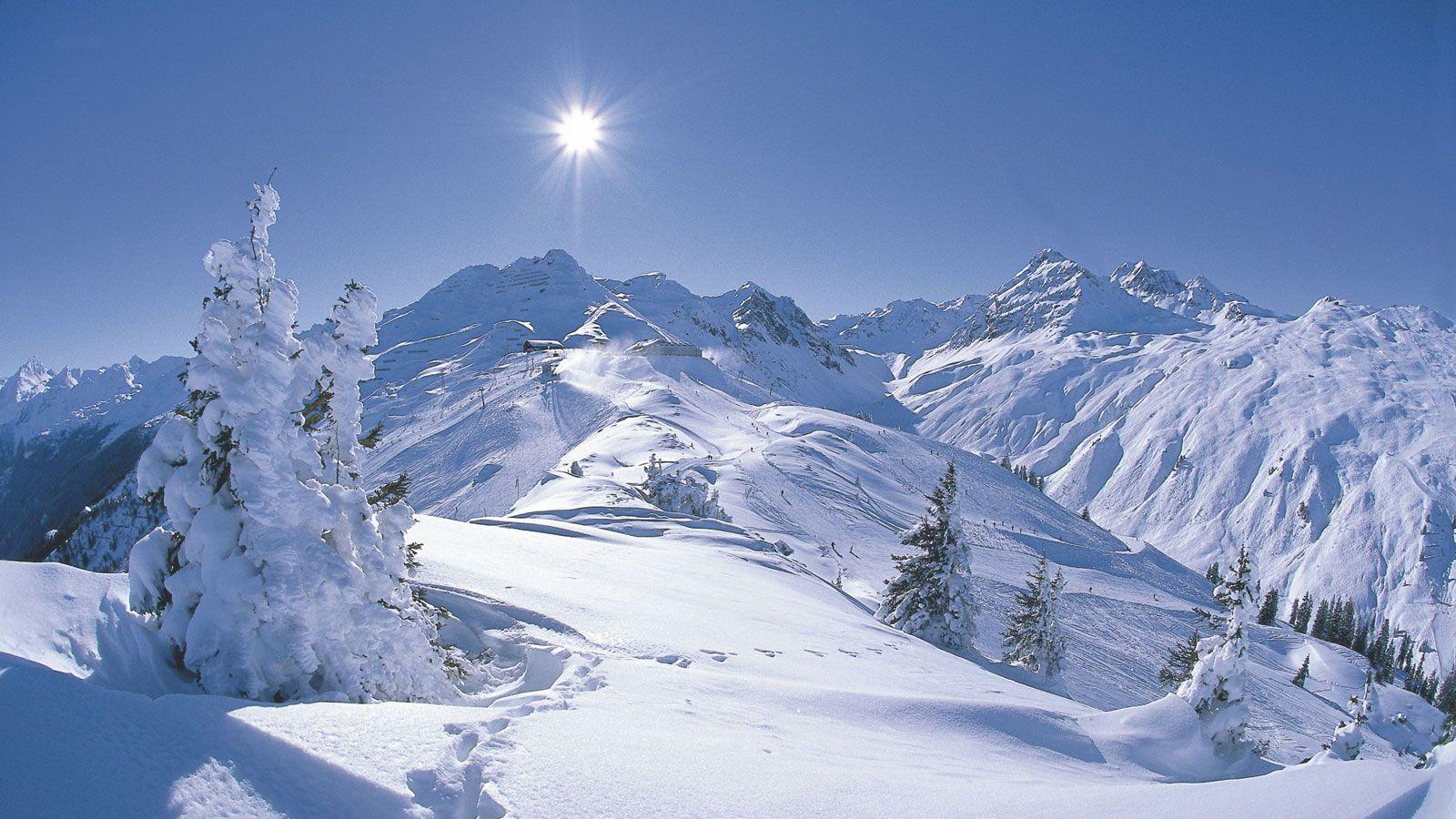 skiing wallpaper download