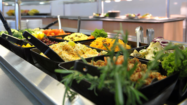Food at Barton Hall for Secondary Schools